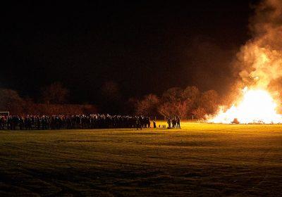 Edale Bonfire and Fireworks 2021