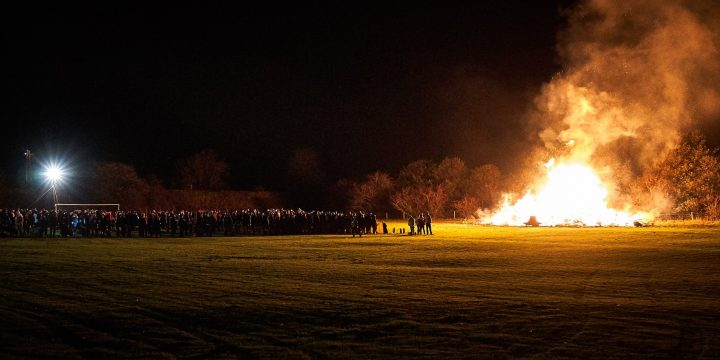 Edale Bonfire 2020 Cancelled