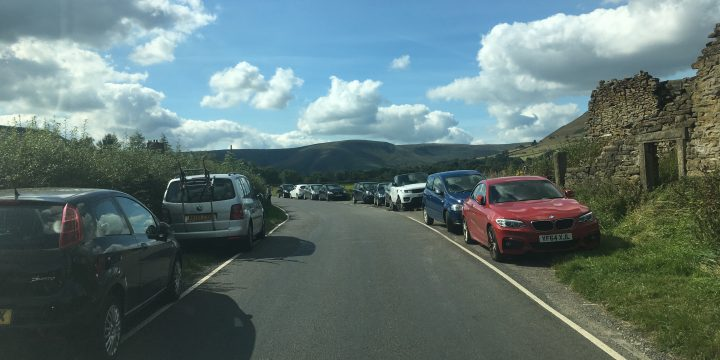 How not to park in Edale