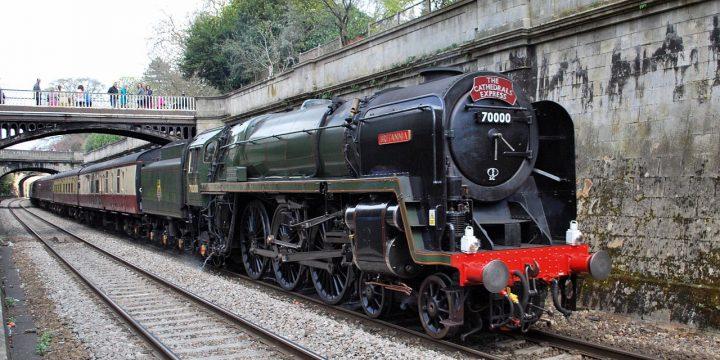Steam Train through Edale Valley