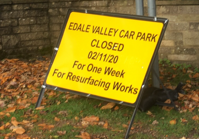 Edale Car Park Temporary Closure (Take 2!)