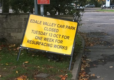 Edale Car Park Resurfacing Postponed